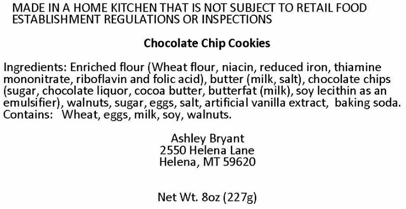 Montana Cottage Food Laws